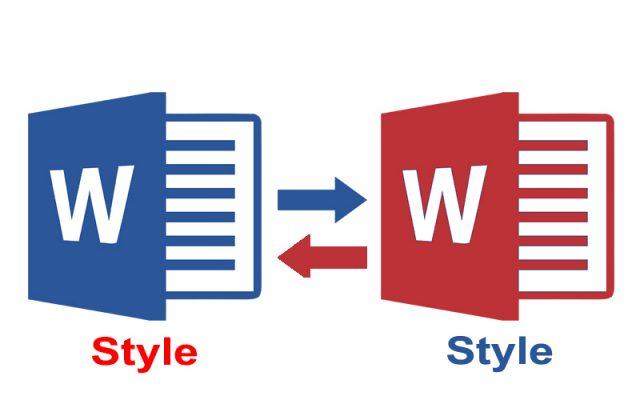 áp dụng style từ file word này sang file word khác