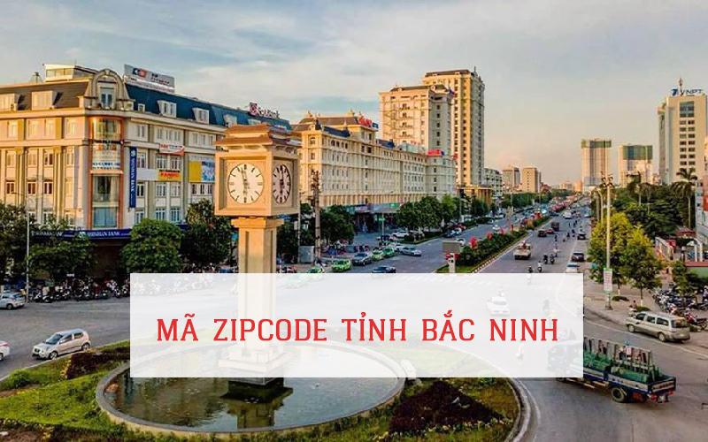 Mã zip code tỉnh Bắc Ninh