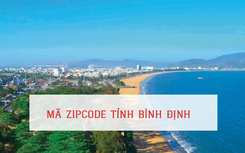 Mã zip code tỉnh Bình Định