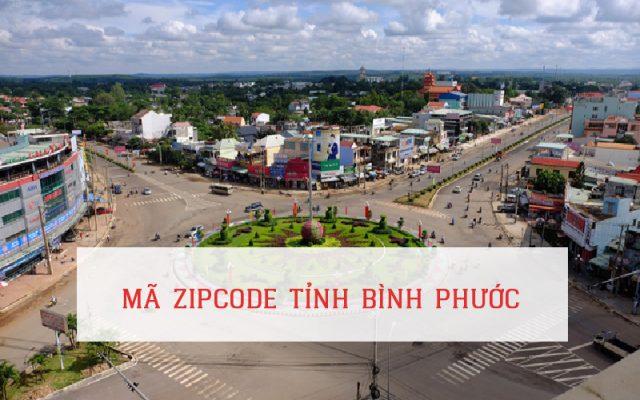 Mã zip code tỉnh Bình Phước