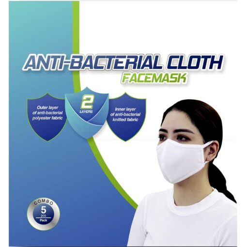 ANTI-BACTERIAL CLOTH FACEMASK