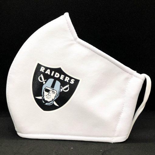 Facemasks With NFL Team Logo - Raider