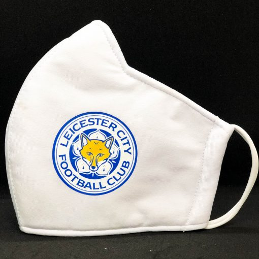Face Masks With Football Club Logo - Leichester city