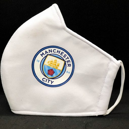 Face Masks With Football Club Logo - manchester city