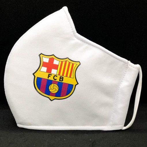 Face Masks With Football Club Logo - barca