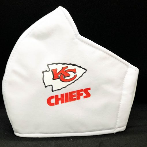 Facemasks With NFL Team Logo - chiefs