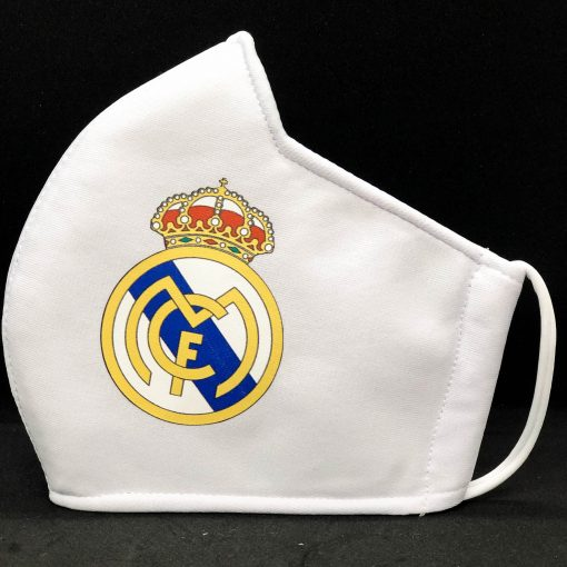 Face Masks With Football Club Logo - real madrid