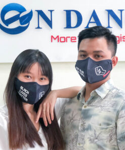 Face Masks With Customized Logo