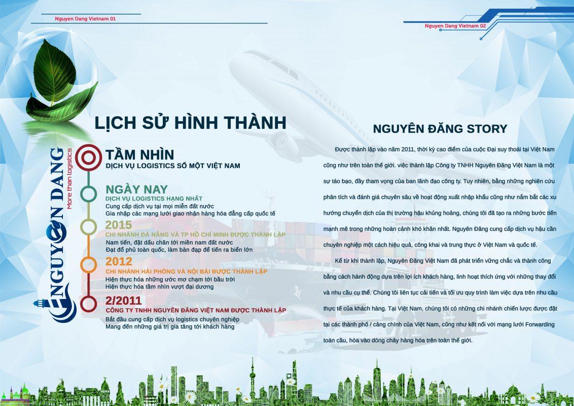 Hồ sơ năng lực Nguyên Đăng Việt Nam
