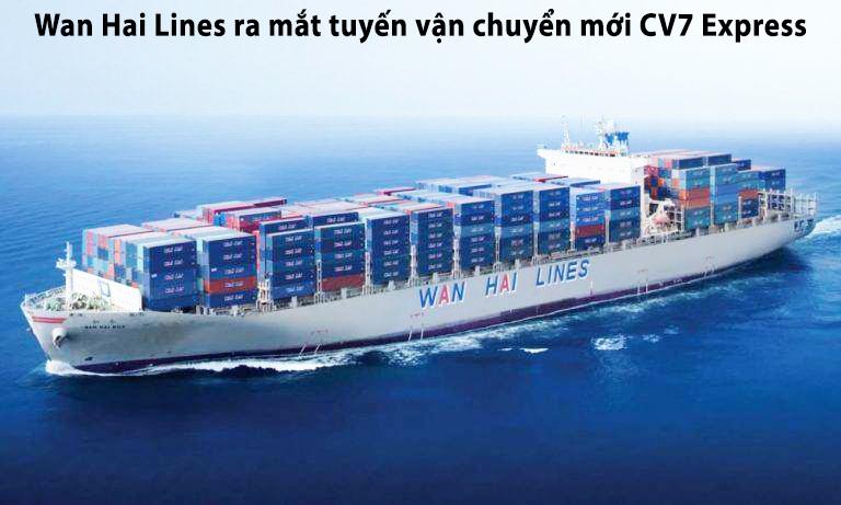 ra mắt tuyến vận chuyển mới CV7 Express