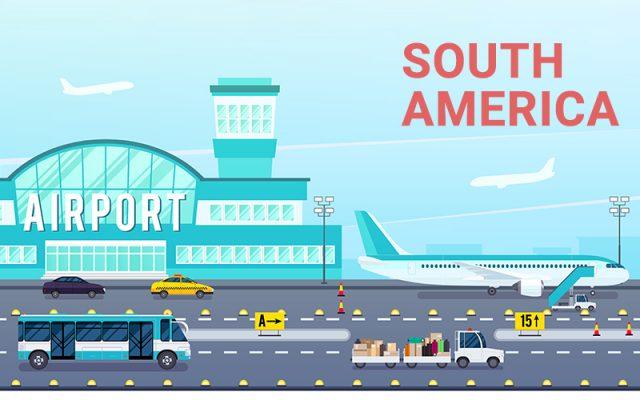 Danh Sách Sân Bay Quốc Tế Nam Mỹ Kèm Theo Mã ICAO và IATA