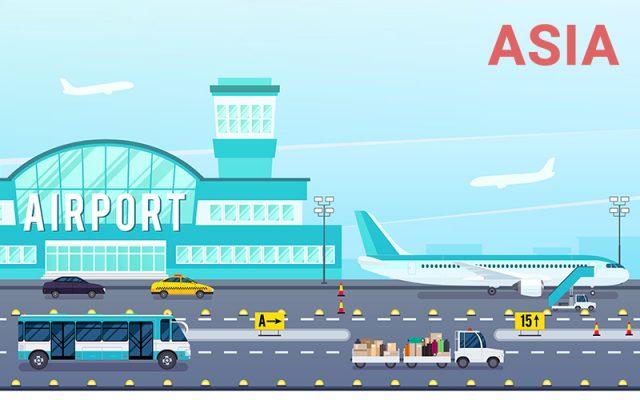 Danh sách sân bay quốc tế châu á kèm theo mã ICAO và IATA