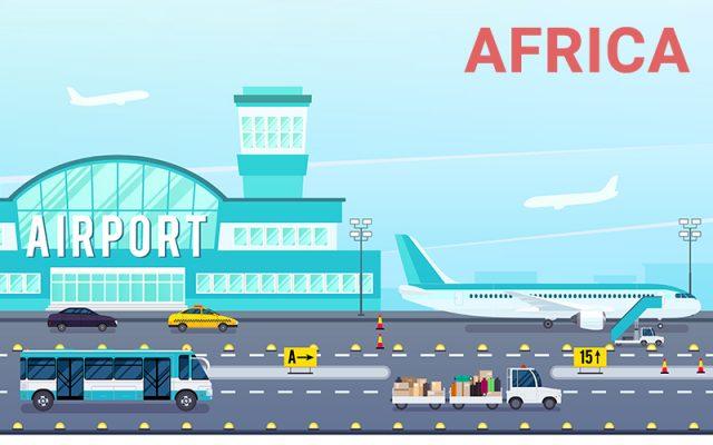 Danh Sách Sân Bay Quốc Tế Châu Phi Kèm Theo Mã ICAO và IATA