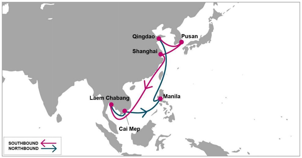 ONE thêm tuyến mới Trung Quốc sang Đông Nam Á