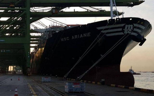 Sự cố MSC Ariane ở Bắc Thái Bình Dương do nhiên liệu kém chất lượng