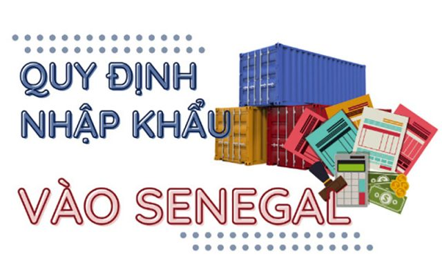 quy định nhập khẩu vào Senegal p2