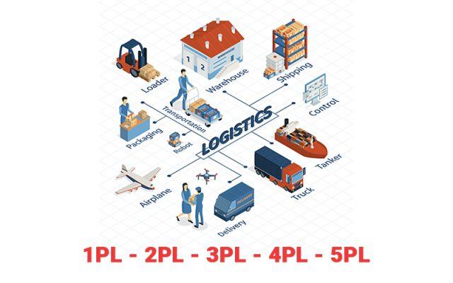 1PL, 2PL, 3PL, 4PL và 5PL - Các hình thức Logistics và Cách phân biệt