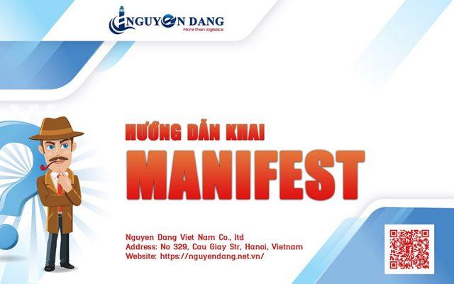 VIDEO HƯỚNG DẪN KHAI MANIFEST TẠI VNSW.GOV.VN