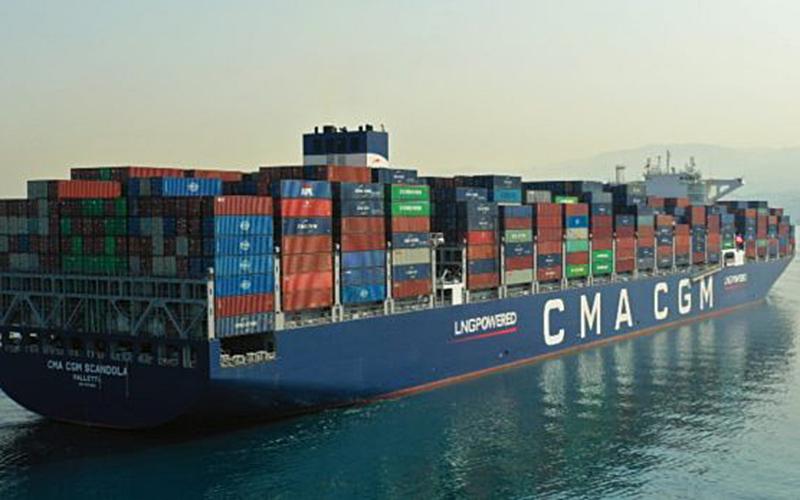 CMA CGM áp dụng các khoản phí Mỹ Latinh mới