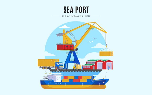 Phân biệt Harbour, Port, Terminal, Berth, Quay, Pier, Jetty