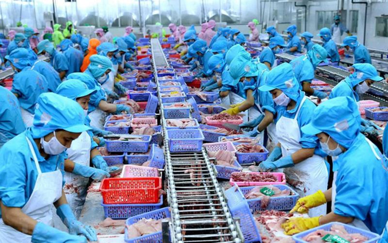 Tạm dừng nhập khẩu thực phẩm đông lạnh tại Trạm Giang (Trung Quốc)
