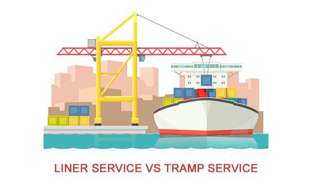 lINER SERVICE VS TRAMP SERVICES