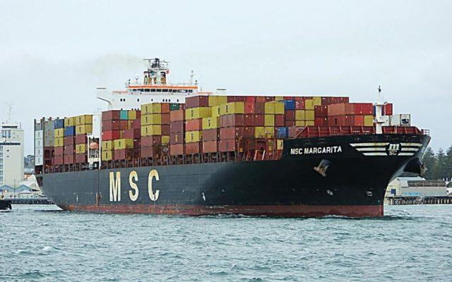 MSC thông báo giá cước mới từ Nam Phi đến Châu Âu