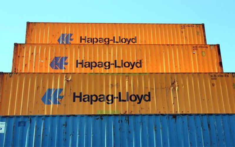 Hapag Lloyd thông báo phí nâng hạng nặng trên toàn thế giới