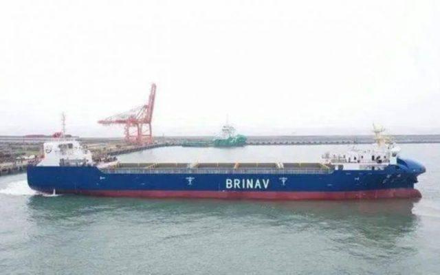 """Tàu container """"không người lái"""" đầu tiên của Trung Quốc"""
