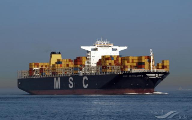 MSC tăng giá cước từ châu Phi đến các cảng lớn của châu Âu